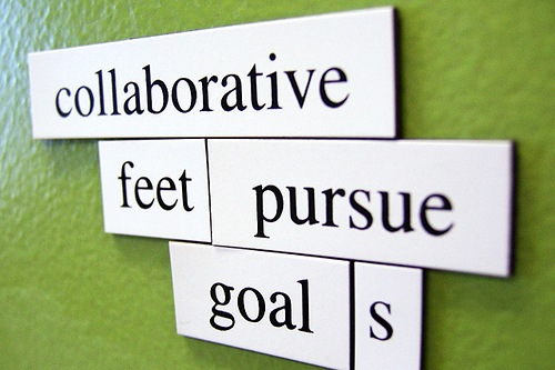 Collaborative feet pursue goals